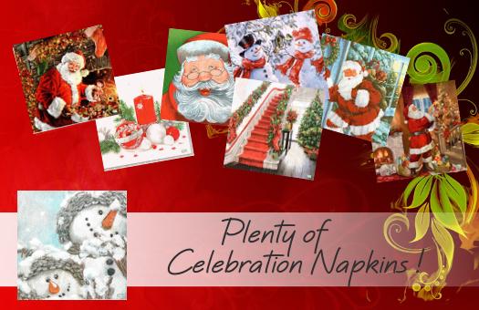 Plenty of Celebration Napkins !